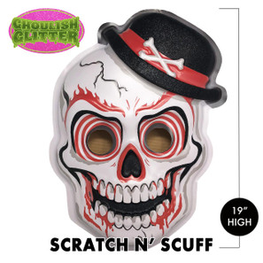 Scratch n' Scuff Voodoo Skull 3-D Wall Decor* -