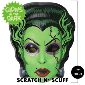 Scratch n' Scuff Toxic Bride 3-D Wall Decor* -