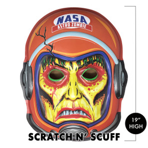 Scratch n' Scuff Space Zombie 2001 3-D Wall Decor* -