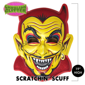 Scratch n' Scuff Spook House Devil 3-D Wall Decor* -