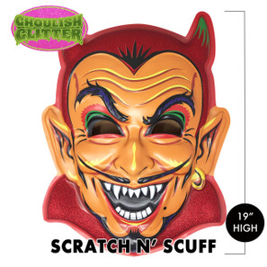 Scratch n' Scuff Hot Stuff Devil 3-D Wall Decor* -