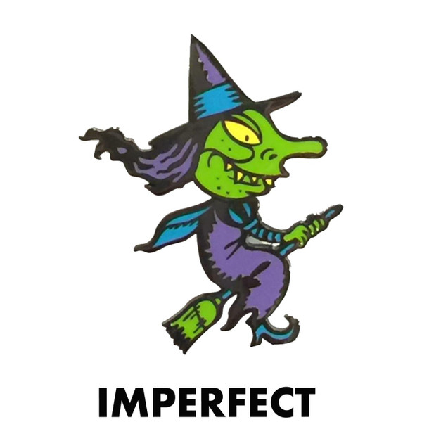 Imperfect Wendy Witch Novelty Pin* -