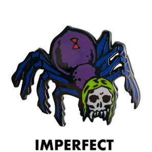 Imperfect Zombie Spider Novelty Pin* -