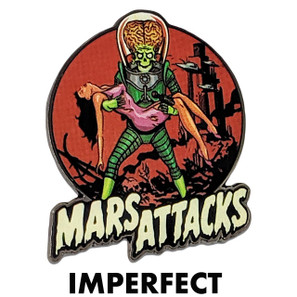 Imperfect Mars Attacks Victim Collectible Pin* -