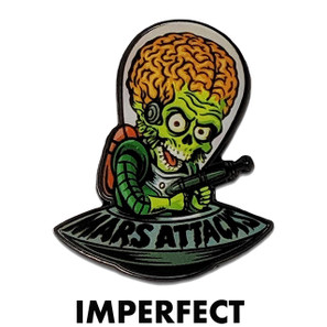Imperfect Mars Attacks Cartoon Invader Collectible Pin* -