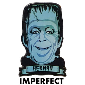 Imperfect Herman Munster Collectible Pin* -