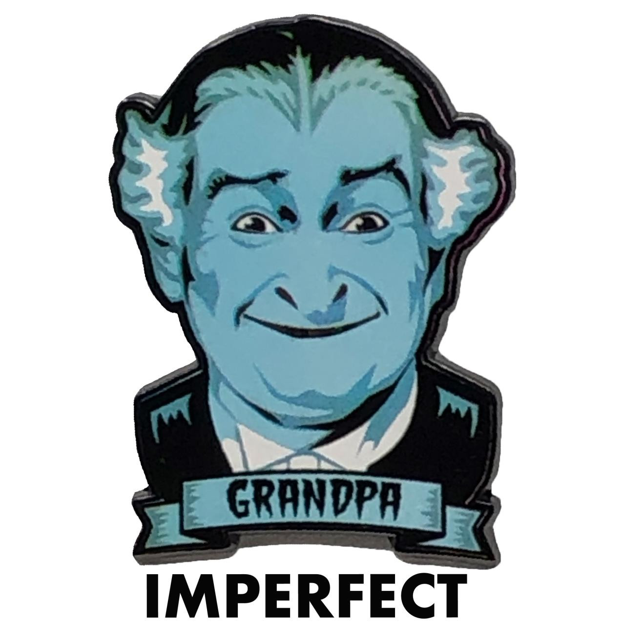 Imperfect Grandpa Munster Collectible Pin* -
