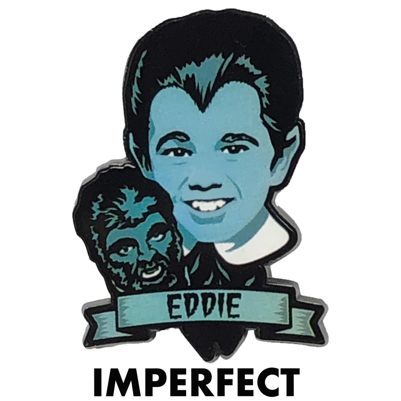 Imperfect Eddie Munster Collectible Pin* -