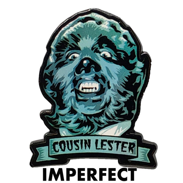 Imperfect Cousin Lester Collectible Pin* -