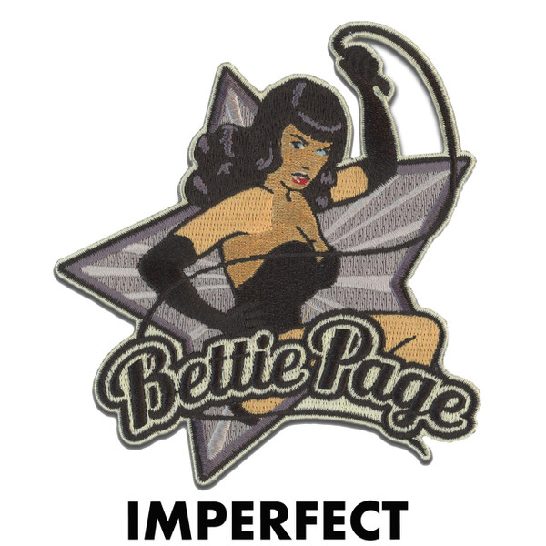 Imperfect Bettie Page Kitten Patch* -