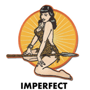 Imperfect Bettie Page Jungle Girl Patch* -