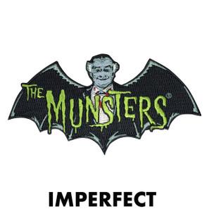 Imperfect Munsters Bat Logo Patch* -