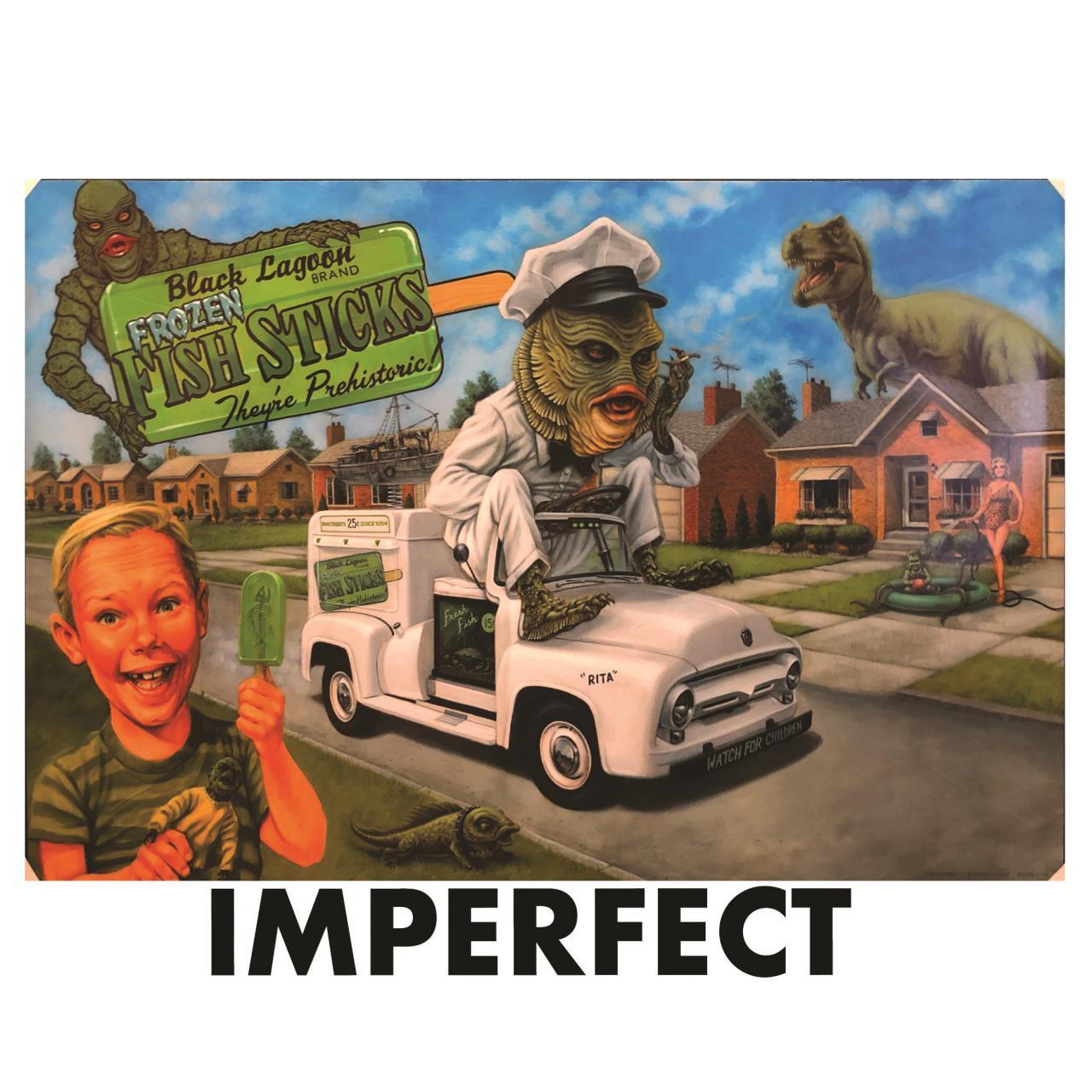 "Imperfect P'gosh Creaturbia 20""x30"" Print 2* -"