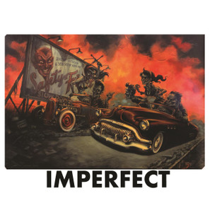 "Imperfect P'gosh Zombilly Drag 20""x30"" Print* -"