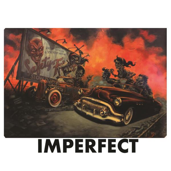 "Imperfect P'gosh Zombilly Drag 20""x30"" Print* -"