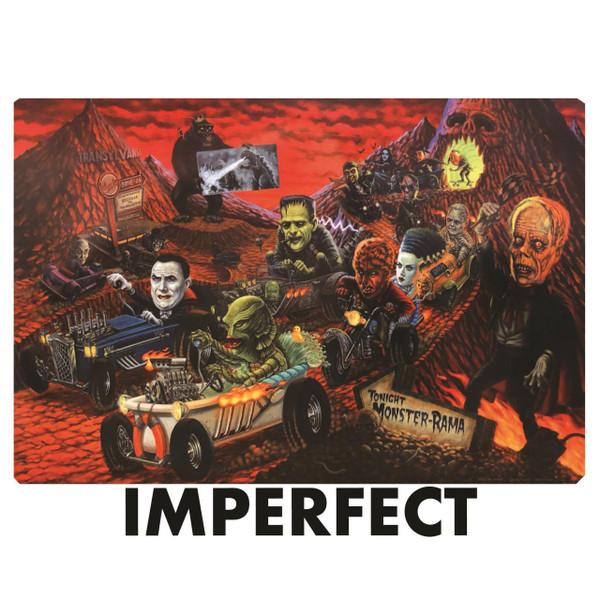 "Imperfect P'gosh Monster-rama 20""x30"" Print* -"