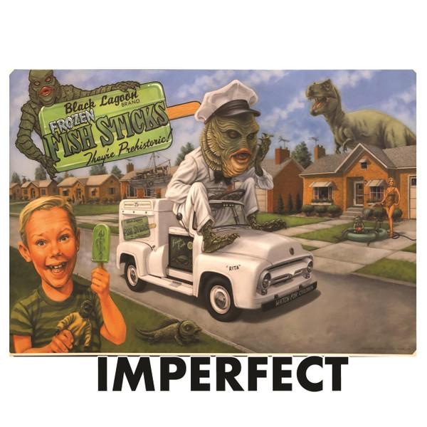 "Imperfect P'gosh Creaturbia 20""x30"" Print 1* -"