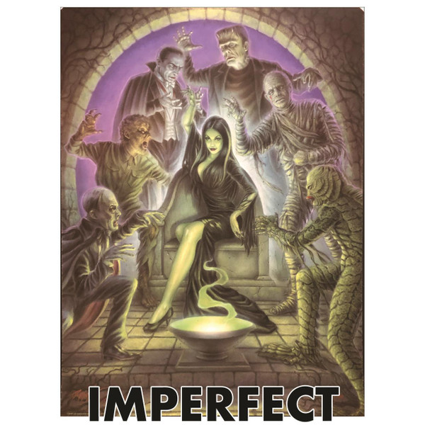 """Imperfect P'gosh Crypt Of Ghouleena 18""""x24"""" Print 2* -"""