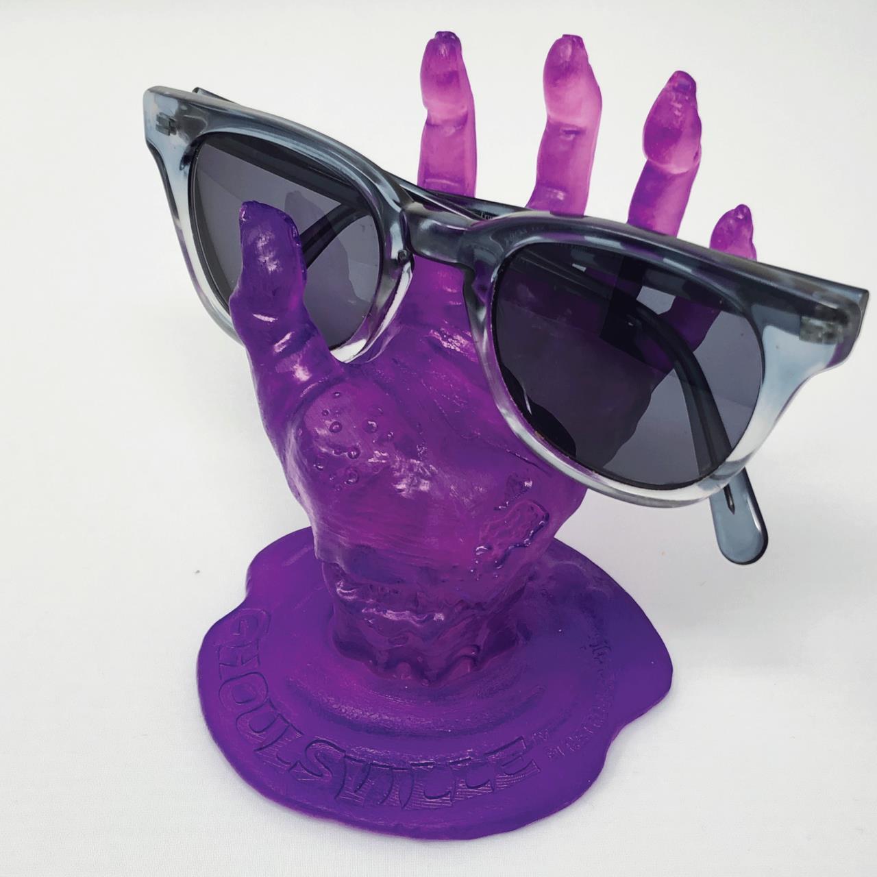 Putrid Purple Zombie Display Hand* - 0659682810096