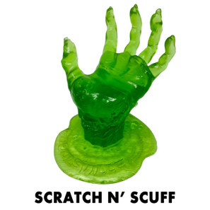 Scratch n' Scuff Radioactive Green Zombie Display Hand* -