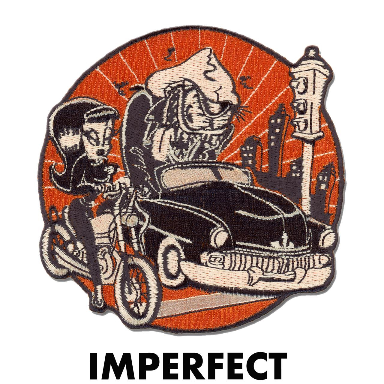 Imperfect Finks N' Femmes Iron Invasion Patch -