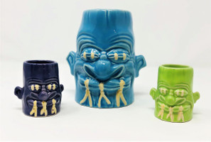 2005 Sam's Shrunken Head – Dinky Noggin' Tiki Set -