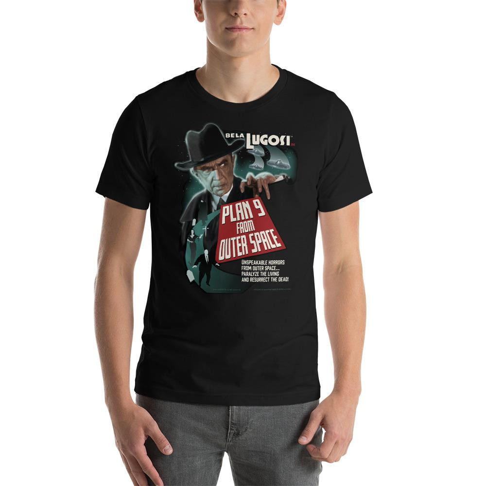 Bela Lugosi Plan 9 From Outer Space Unisex T-Shirt* -