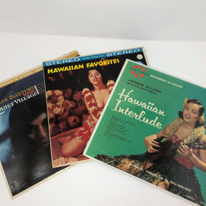 Hawaiian Vinyl Record Collection #2 -