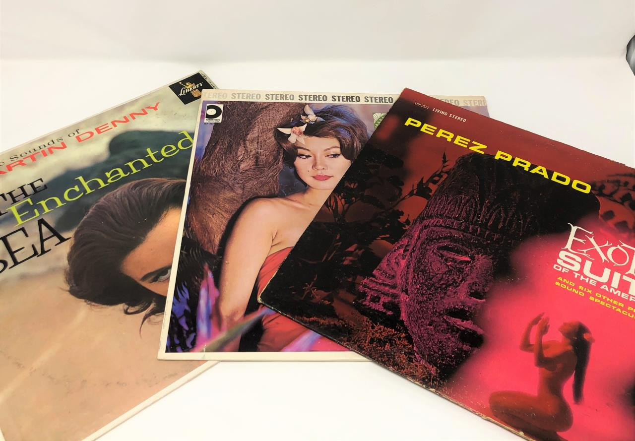 Hawaiian Vinyl Record Collection #1 -