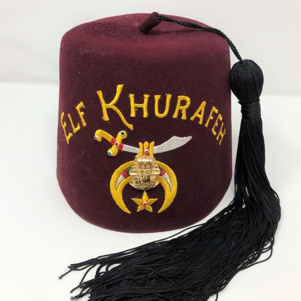 Elf Khurafeh Shriners Hat -