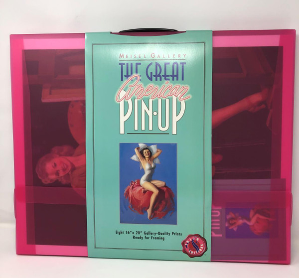 """Louis Meisel Gallery """"the Great American Pin-Up"""" Print Collection Folio Edition -"""