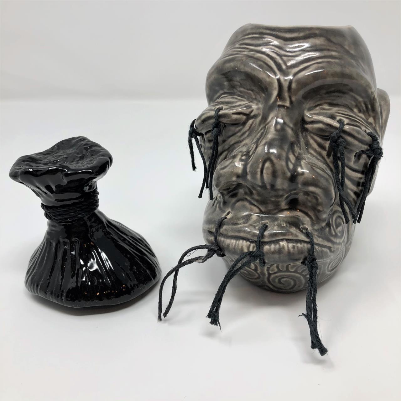 Rare Tiki Diablo Shrunken Head Tiki Mug -