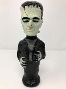 Vintage 1960's Frankenstein Soaky Bubble Bath Bottle -