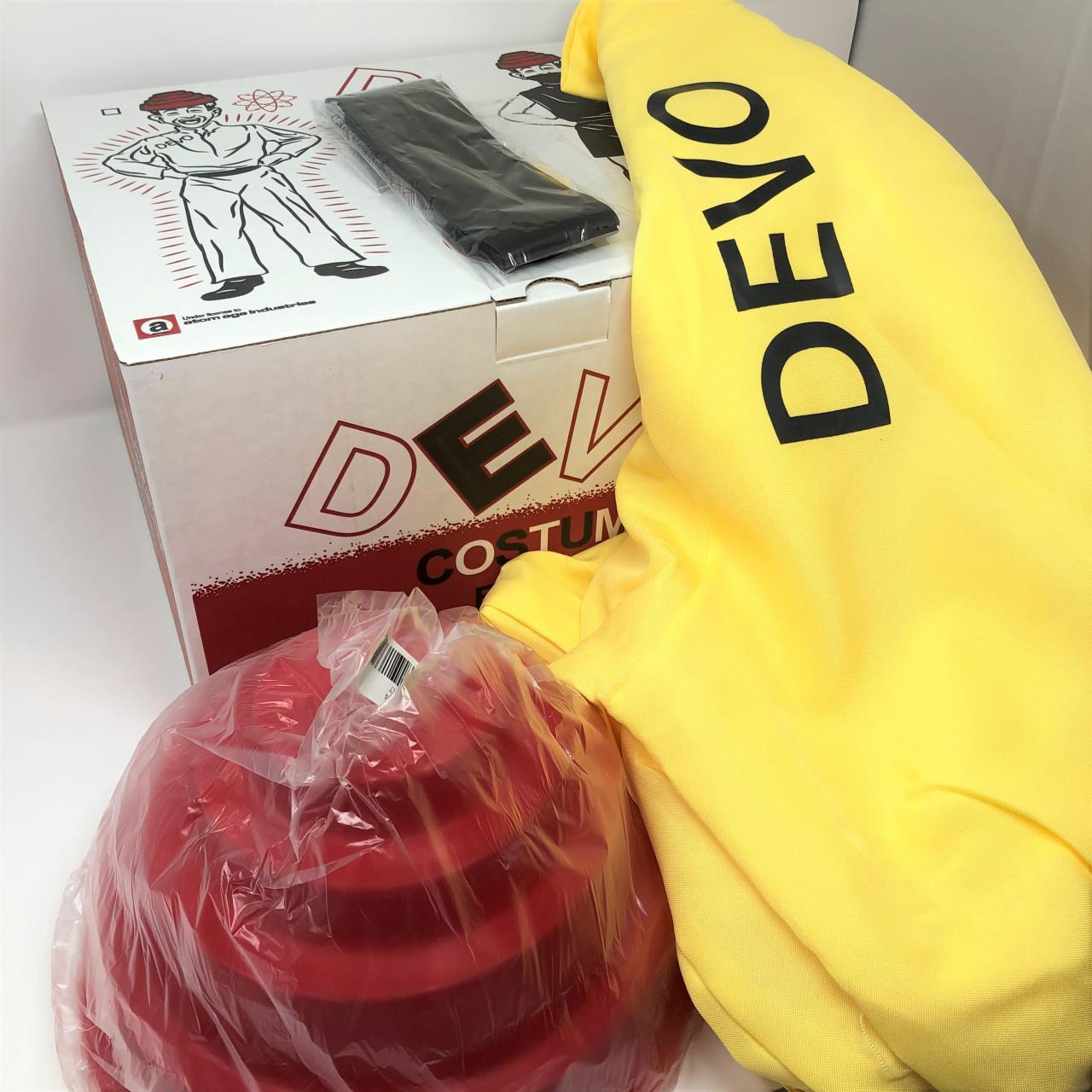 Devo Costume W/Energy Dome -