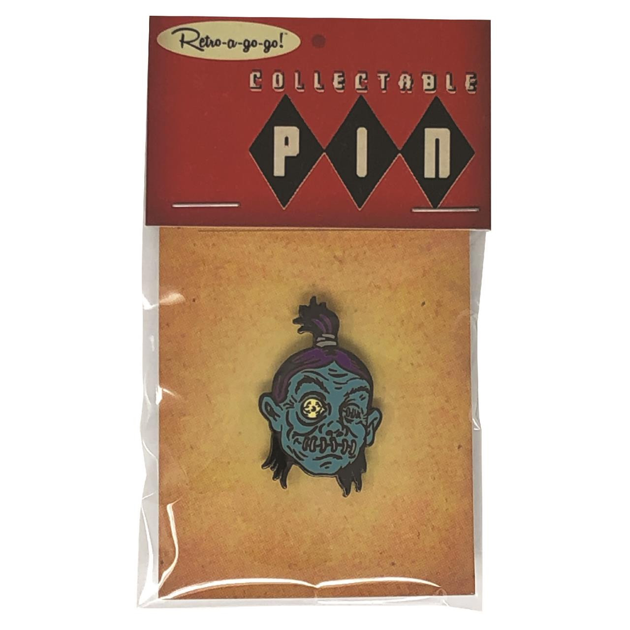 Shrunken Head Collectible Pin* -