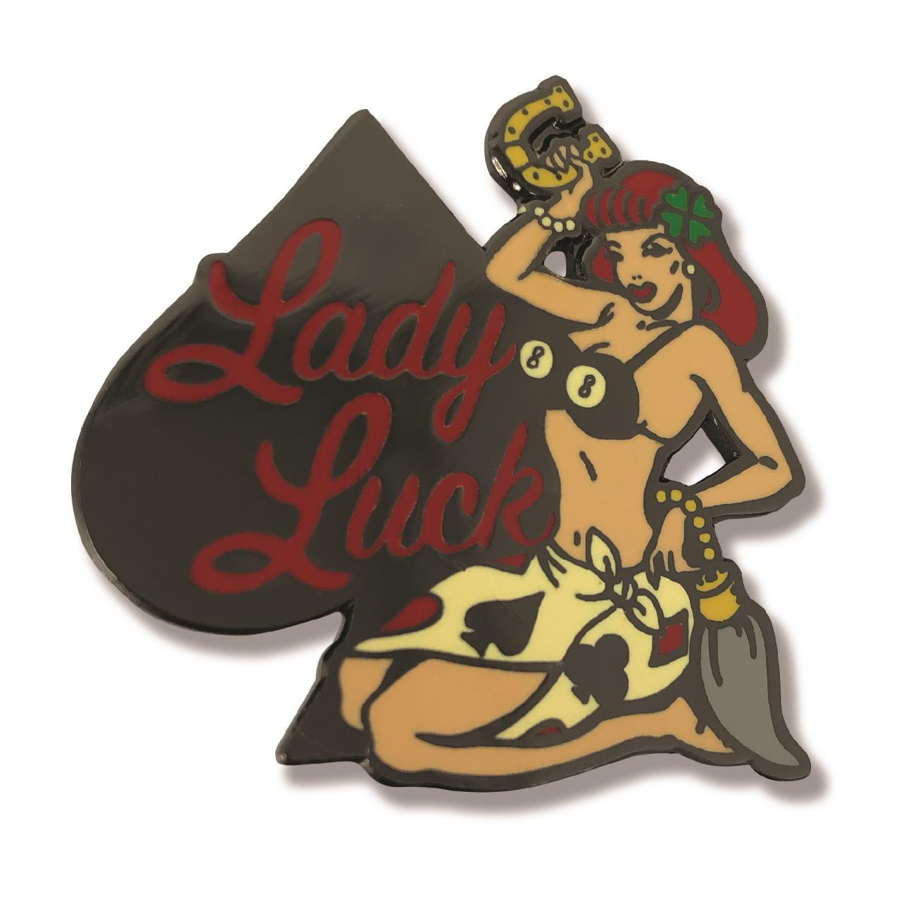 Lady Luck Collectible Pin* -