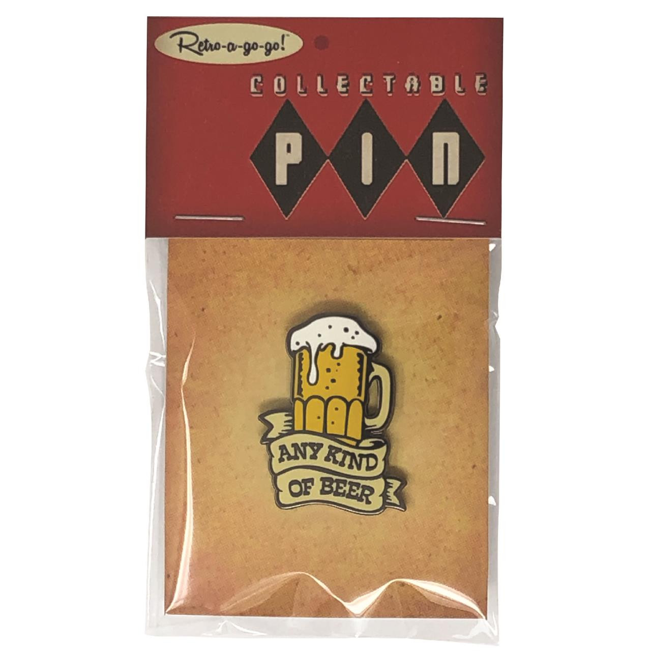 Any Beer Collectible Pin* -