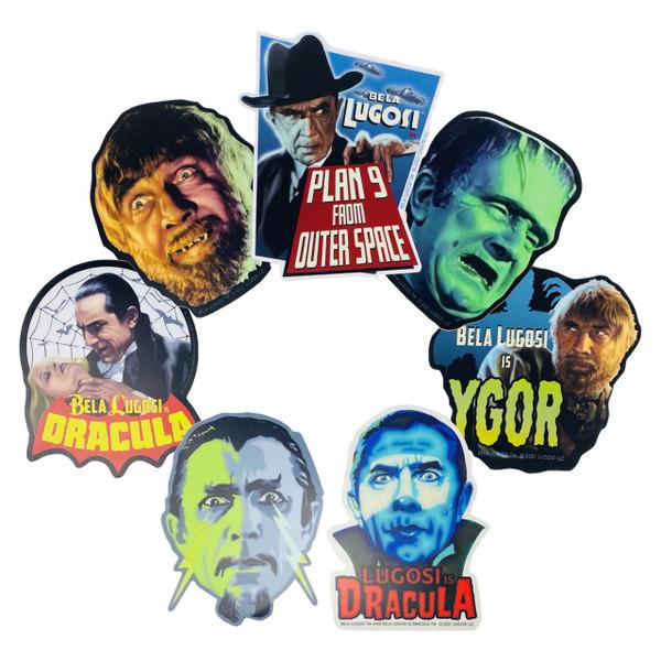 Bela Lugosi Vinyl Sticker Collection* -