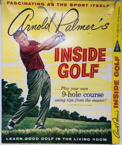 Vintage Arnold Palmer's Inside Golf Game -