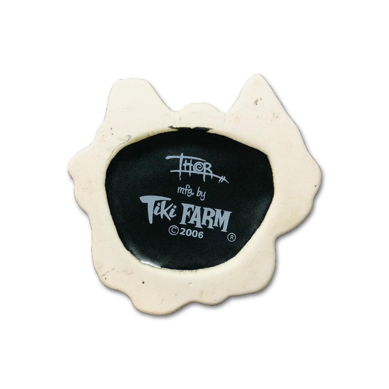 2006 Tiki Farm Jivaro Shrunken Head Tiki Mug By: Thor -