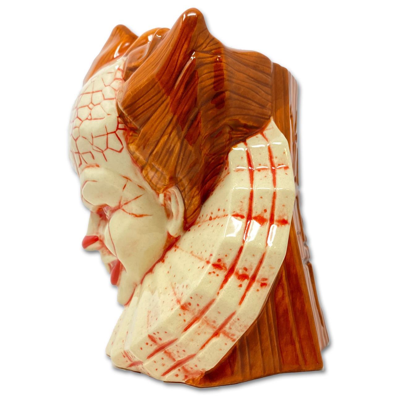 Pennywise Ceramic Tiki Mug - Orange/Red* -