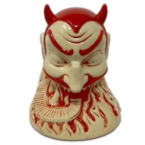 Ol' Scratch Ceramic Tiki Mug - Red* -