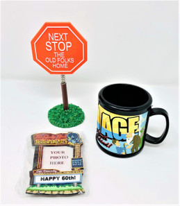 Happy 60th Birthday Gag Gifts Lot of 3 -