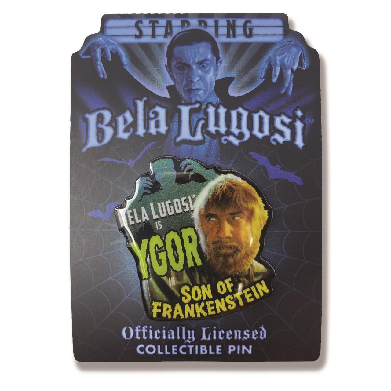 Bela Lugosi Is Ygor Collectible Pin* -