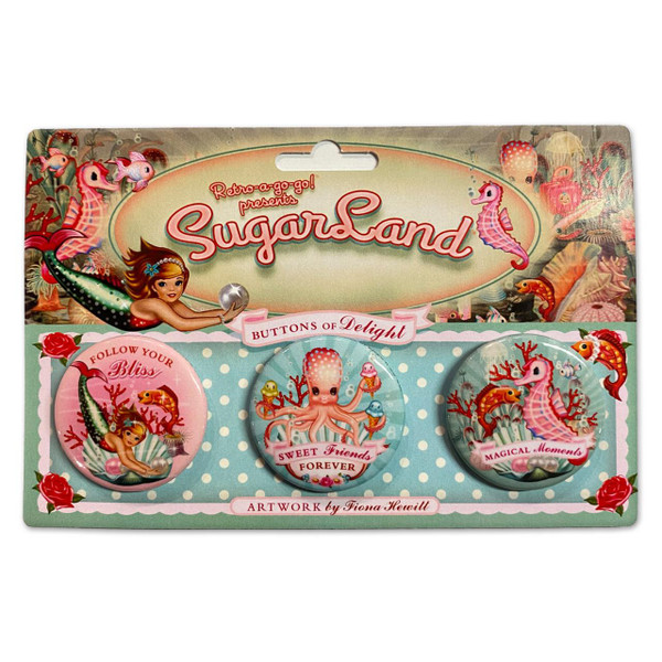 SugarLand Buttons of Delight Button Set* -