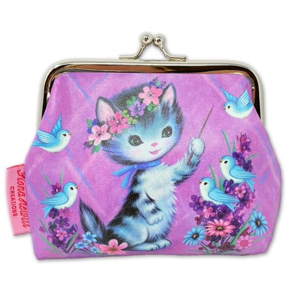 SugarLand Purple Cat Coin Purse* -