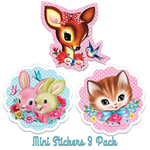 SugarLand Mini Vinyl Stickers - 3 Pack* -