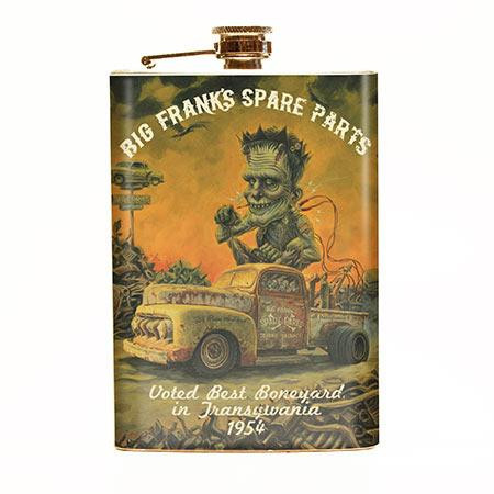 Big Frank's Spare Parts Flask-OUT OF STOCK -