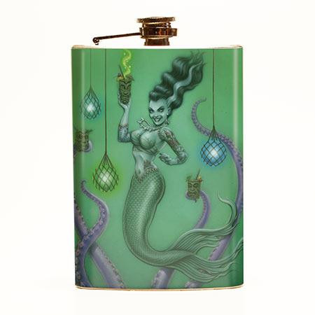 Franken Mermaid Flask-OUT OF STOCK -