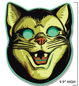Happy Cat Metal Sign - Mini* -